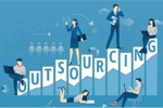 Why has outsourcing become a trend?