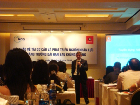 The event attracted more than 50 HR professionals from almost 50 different companies.