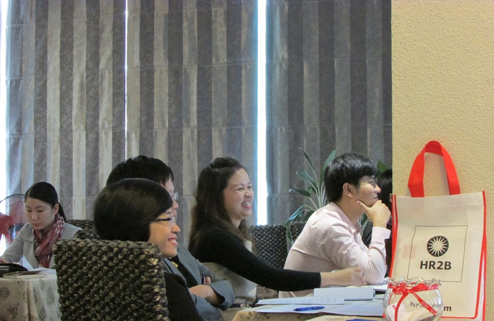 HR2B DaNang Workshop Participants come from Executive Search Customers