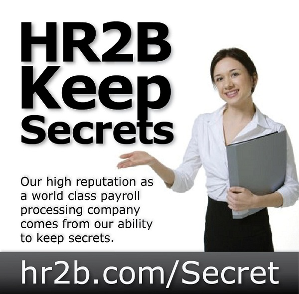 HR2B Payroll Confidentiality Report