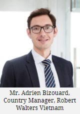 Mr. Adrien Bizouard, Country Manager, Robert Walters Vietnam
